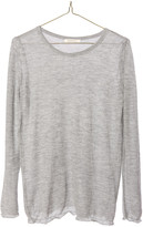 Ragdoll LA CASHMERE LONG SLEEVE TEE Dark Grey