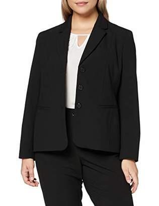 Ulla Popken Women's 3-knopf Blazer Suit Jacket,(Size: 42)
