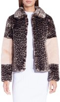 Shrimps Albin Grey Leopard Jacket