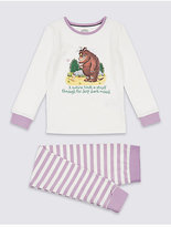 Marks and Spencer GruffaloTM Pyjamas with Stretch (1-8 Years)