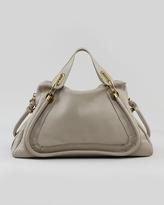Chloé Paraty Medium Shoulder Bag, Gray