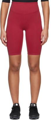 Ernest Leoty Red Adelaide Biker Shorts
