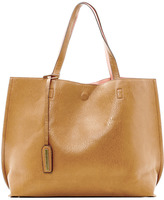 Street Level Tan/Coral Reversible Tote