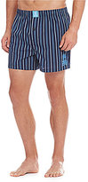 Psycho Bunny Striped Woven Boxers