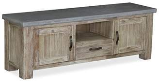 Global Home Products Collection 90 TV Unit, Wood, Multi-Colour, Large
