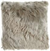 """Aviva Stanoff Gray Alpaca Pillow, 20""""Sq."""