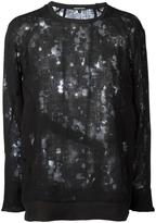 Ann Demeulemeester distressed sweatshirt