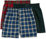 Hanes 3-pk. ComfortFlex Knit Boxers - Boys 6-20