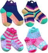 Ez Sox Kids Socks Seamless Toe and Pull up Loops