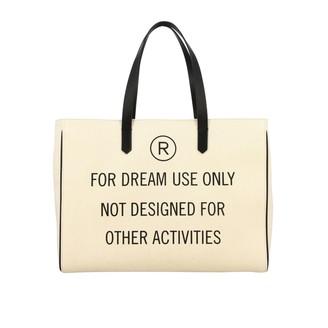 Golden Goose Canvas Shopping Bag With Logo