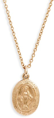 Nashelle Mary Muse 14K-Gold Fill Pendant Necklace
