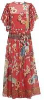 RED Valentino Long Bird dress
