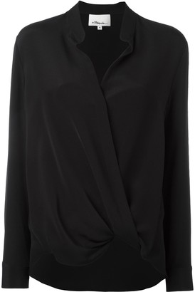 3.1 Phillip Lim Silk Wrap Blouse