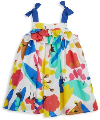 Catimini Baby's & Little Girl's Tie-Strap Floral Dress