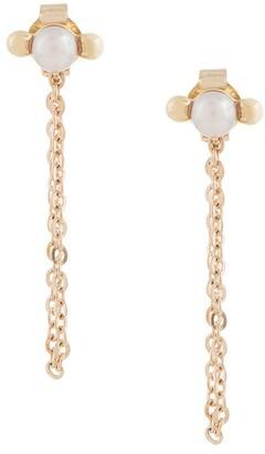 Karen Walker Vermeer Pearl earrings