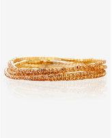 Express five rhinestone stretch bracelets