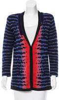 Proenza Schouler Silk Patterned Cardigan
