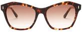 Tod's Women's Square Plastic Frame Sunglasses
