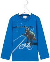 Paul Smith T-rex print long sleeve T-shirt