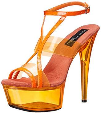 The Highest Heel Women's Glow-111 6 Inch Platform Sandal
