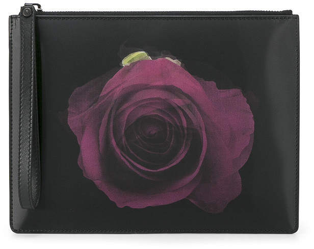 Christopher Kane Rose motif clutch