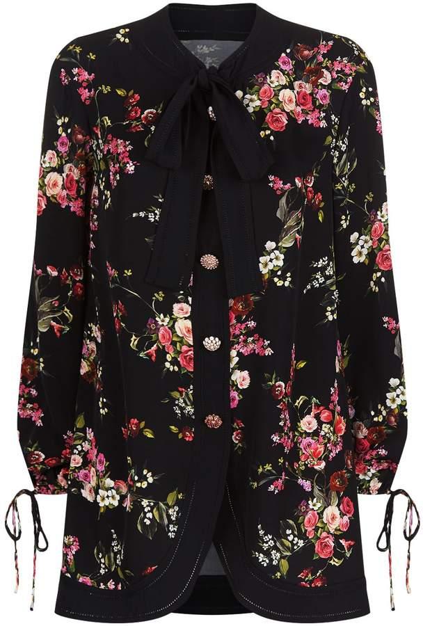 Dolce & Gabbana Crystal-Embellished Blouse