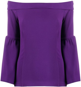 Etro Off-The-Shoulder Blouse
