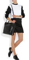Miu Miu Zip-detailed leather tote