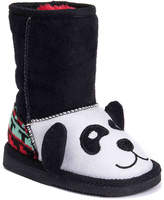 Muk Luks Girls Oreo Panda Bear Toddler Boot