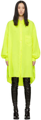 MM6 MAISON MARGIELA Yellow Shirt Dress