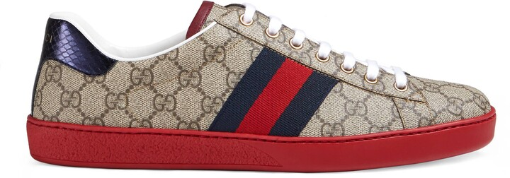 Thumbnail for your product : Gucci Men's Ace GG Supreme sneaker