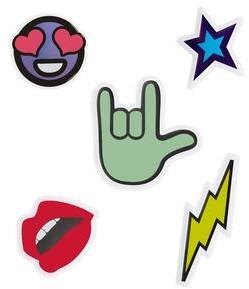 Rebecca Minkoff Travel Emoji Sticker Pack