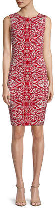 Tart Helena Baroque Print Sheath Dress