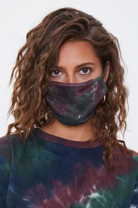 Forever 21 Tie-Dye Face Mask