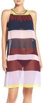 Ted Baker Women's Stripe Cover-Up Midi Dress