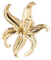 14K Daylilly Brooch Pin
