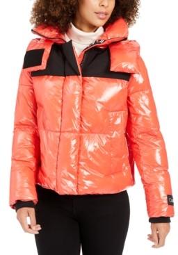 Calvin Klein Cropped Puffer Coat