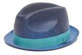 Paul Smith Mitchel Dip Straw Hat