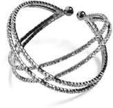 GUESS Women's Flexi Crisscross Bracelet