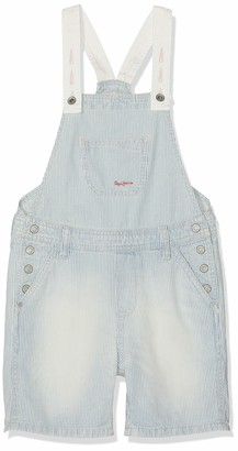 Pepe Jeans Girl's Pitch Dungarees