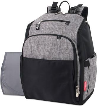 Fisher-Price Now Pockets Fast Finder Backpack Diaper Bag