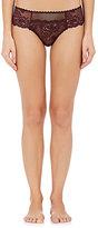 Stella McCartney Women's Sophie Surprising Lace Thong-PURPLE, BURGUNDY