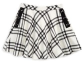 Kate Spade Girl's Plaid Circle Skirt