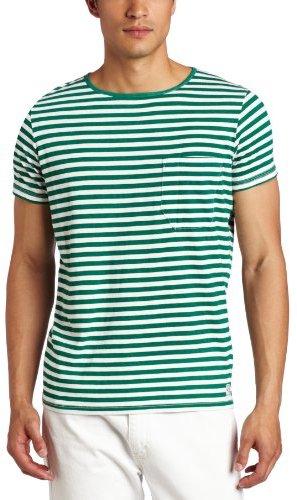 French Connection Men's Livingstone Stripe Short Sleeve T-Shirt