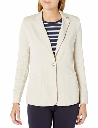 Jones New York Women's Boxy Blazer with Patch Pockets