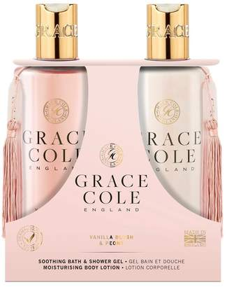 Grace Cole Vanilla Blush Peony Body Care Duo