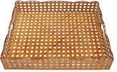 Moda Domus Large Rattan Gallery Tray