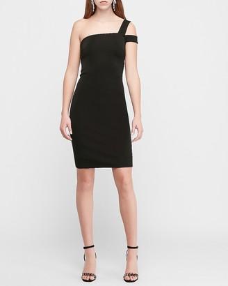 Express Split One Shoulder Sheath Dress