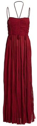 TRE by Natalie Ratabesi Aura Chiffon Maxi Dress
