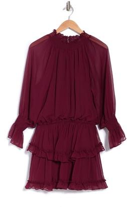 Do & Be Tiered Ruffle Dress